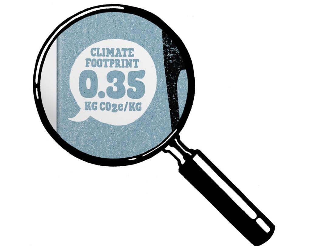 Oatly - Carbon Footprint on Packaging ©Oatly