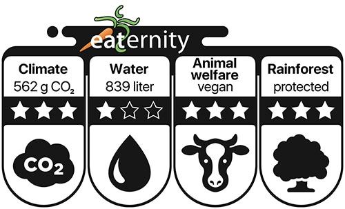 Veganz Eaternity Label ©Veganz