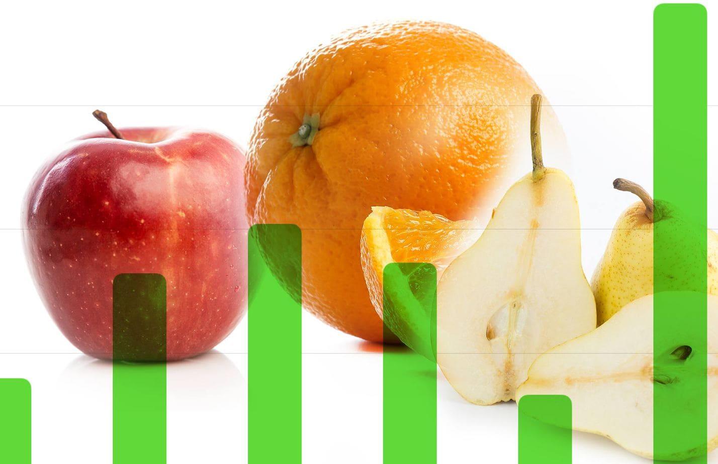 Oranges Apples Pears Environmental Footprint