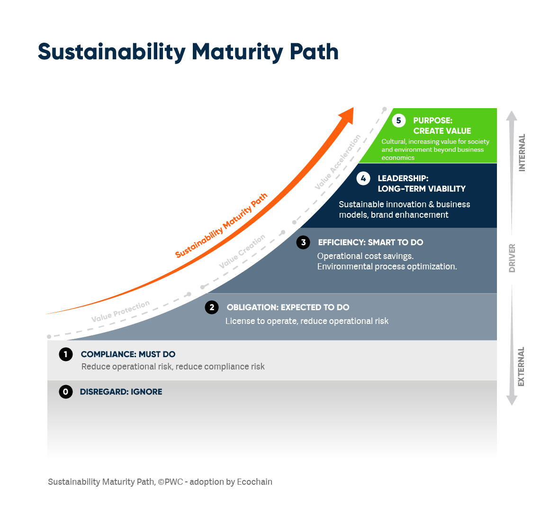 Sustainability Maturity Path