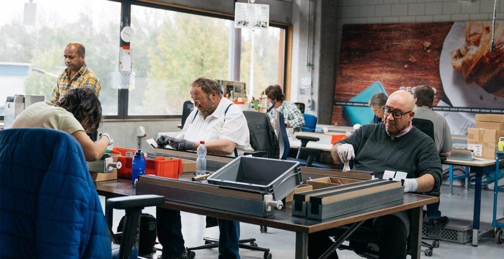 Secrid - Dutch leatherwear production