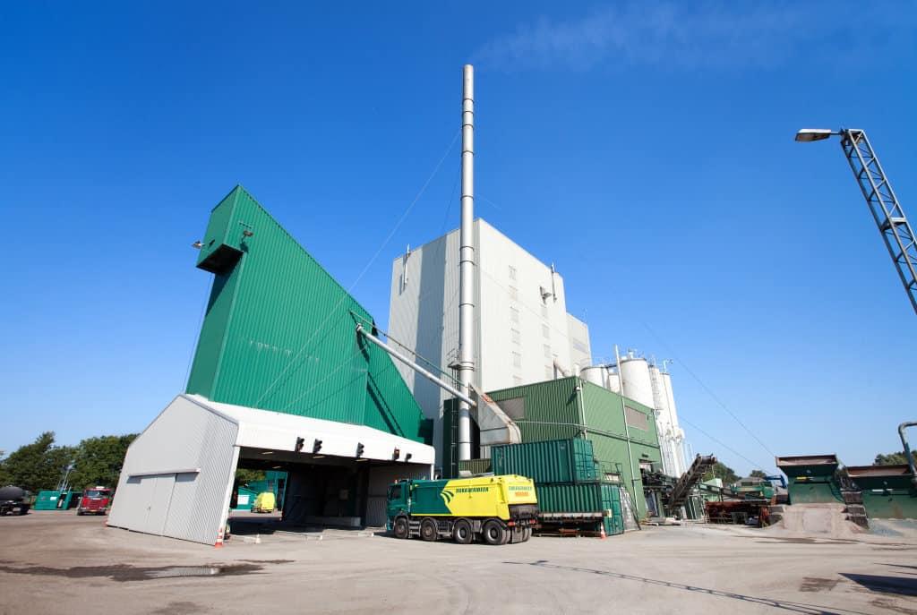Dura Vermeer's asphalt plant in Nijmegen.
